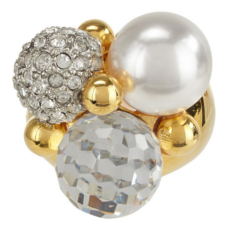 Cluster Pearl Ring, ${color}