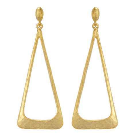 Triangle Earrings, ${color}