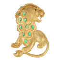 Crystal Lion Pin, ${color}