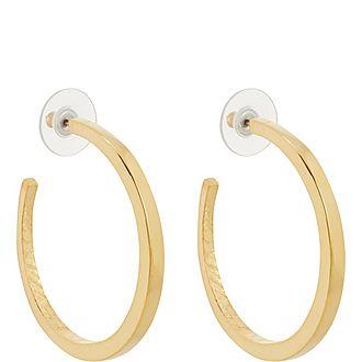 Open Hoop Earrings