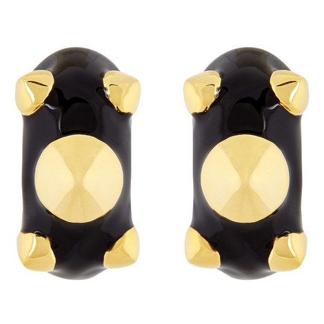 Spiked Clip-On Earrings, ${color}