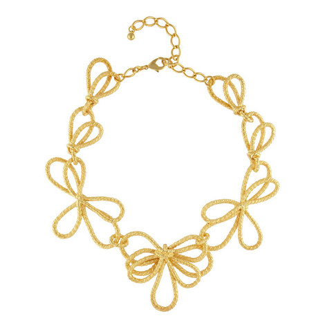 Bow Necklace , ${color}