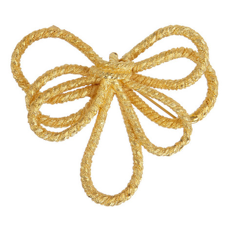 Knot Bow Brooch, ${color}