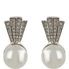 Pearl Bottom Earring