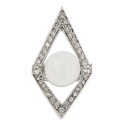 Diamond Pearl Ring, ${color}