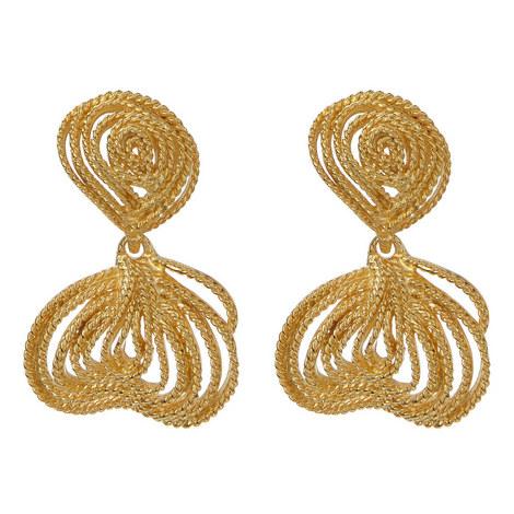 Knot Drop Earrings, ${color}