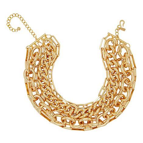 Multi-Chain Necklace, ${color}
