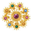 Multi-Gemstone Pin , ${color}