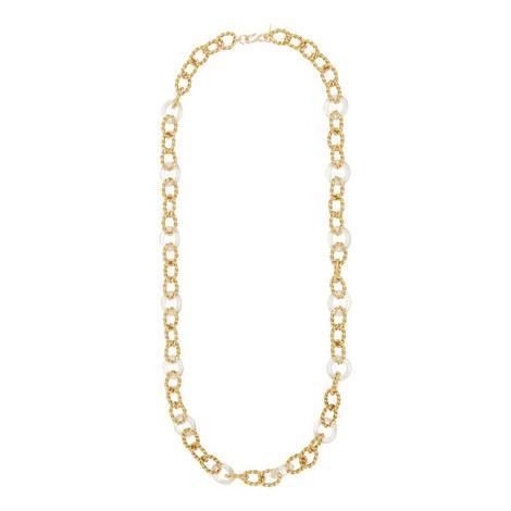 Circle Link Necklace, ${color}