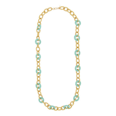 Circle Link Necklace, ${color}
