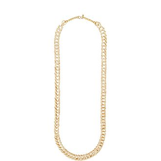 Long Coconut Braid Necklace