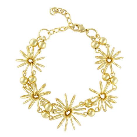 Flower Wire Bracelet , ${color}