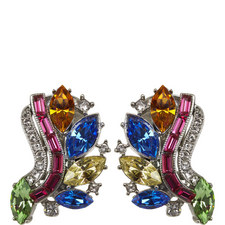 Rainbow Clip-On Earrings