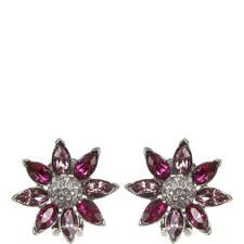 Flower Clip-On Earrings