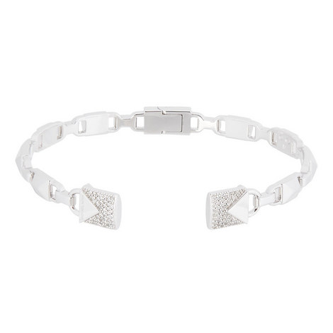 Mercer Hinged Open Cuff Bangle, ${color}