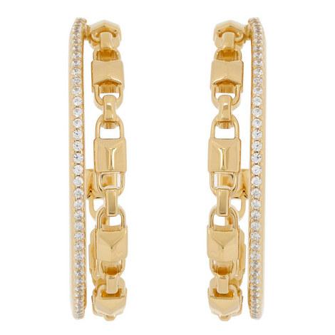 Mercer Crystal Hoop Earrings, ${color}