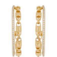 Mercer Crystal Hoop Earrings