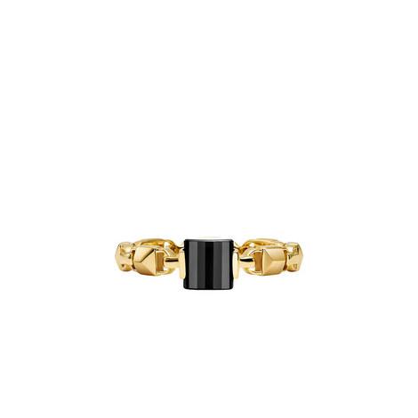 Stacking Mercer Link Ring, ${color}