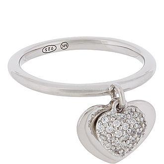 Duo Heart Ring