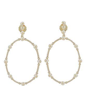 Pearl Orbit Earrings