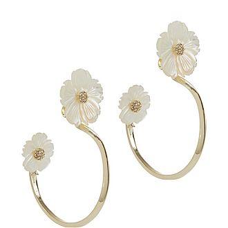 Link Posy Drop Earrings