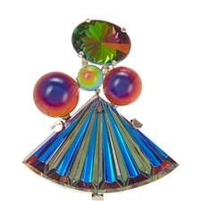 Glass Fan Pin