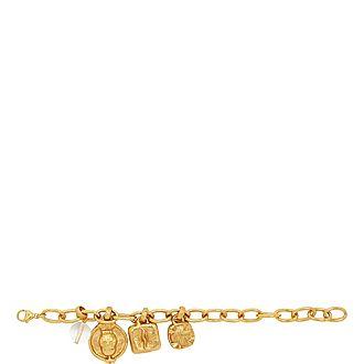 Medallion Drop Bracelet