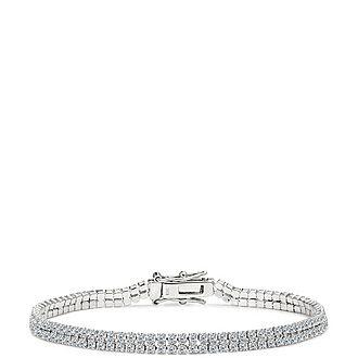 Double Row Tennis Bracelet