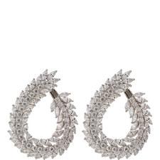Stone Cluster Earrings