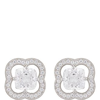Clover Scarlet Earrings