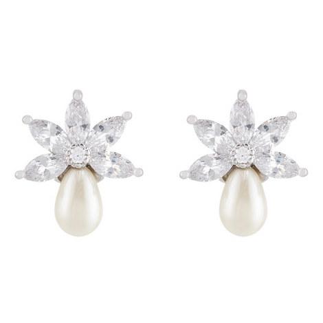 Stud Pearl Earrings, ${color}