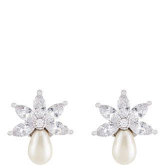 Stud Pearl Earrings