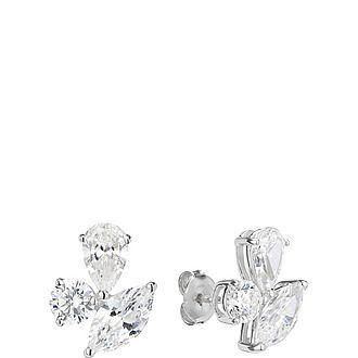 Fancy Cluster Earrings