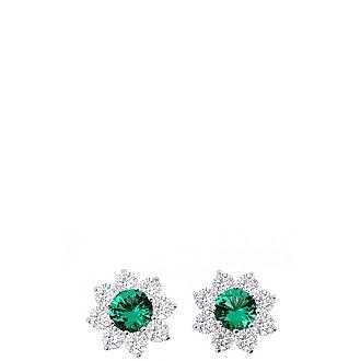 Dora Emerald Earrings