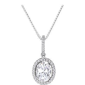 Octavia Oval Necklace