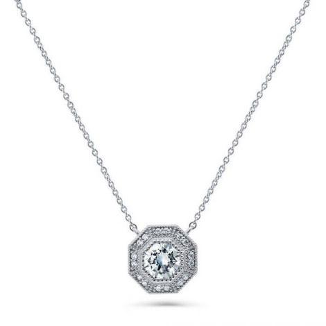 Octagon Necklace, ${color}