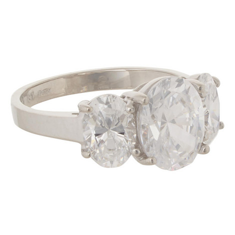 Oval Trilogy Ring, ${color}
