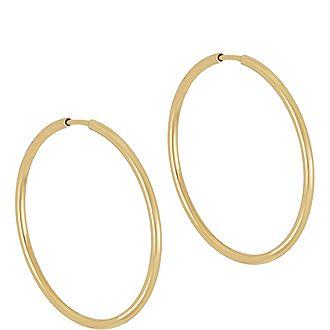 Senor 35 Pair Hoop Earrings