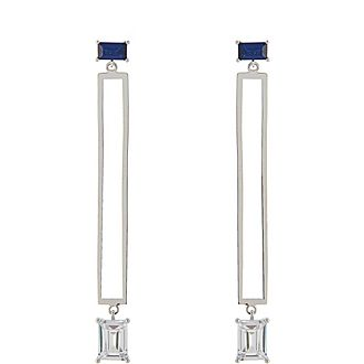 Sofia Linear Drop Earrings