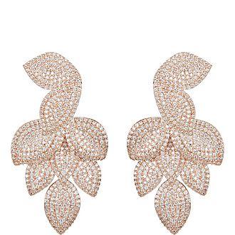 Plumeria Drop Earrings