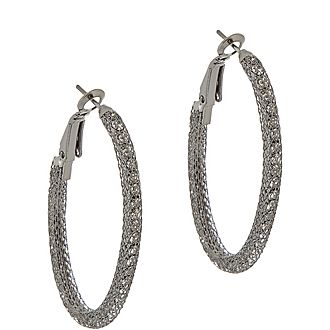 C Hoop Earrings