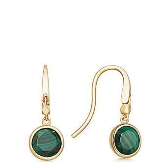 Stilla Malachite Earrings