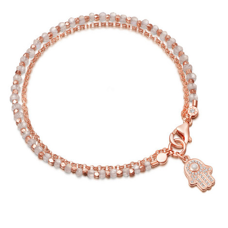Biography Rainbow Moonstone Bracelet, ${color}