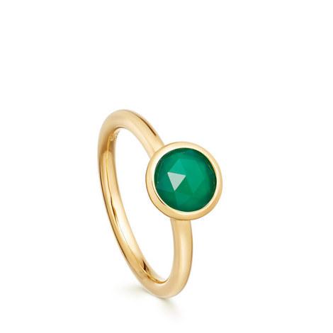 Stilla Green Onyx Ring, ${color}