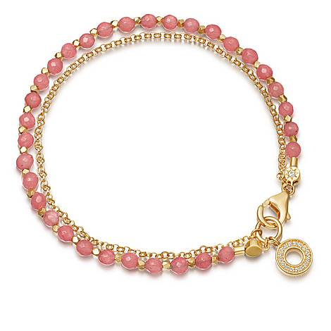 Biography Mini Halo Bracelet , ${color}