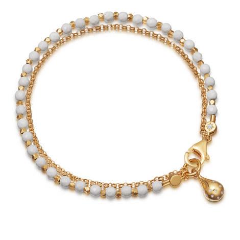 Biography Agate Dew Drop Bracelet , ${color}
