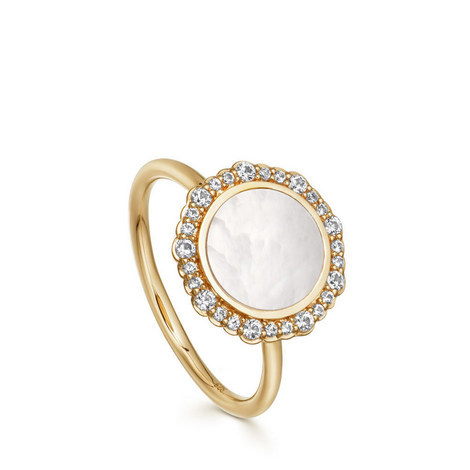 Mother of Pearl Luna Ring, ${color}