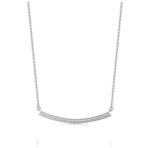 Sapphire Biography Pendant Necklace, ${color}