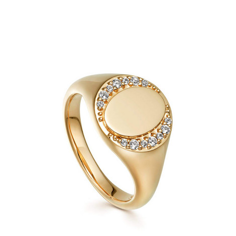 Biography Signet Ring, ${color}