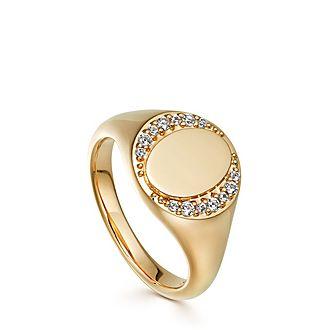 Biography Signet Ring